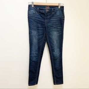 Justice Simply Low jegging dark denim wash 14